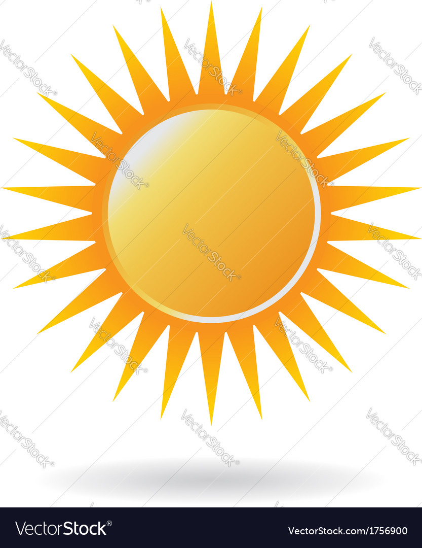 Power sun logo vector | Price: 1 Credit (USD $1)