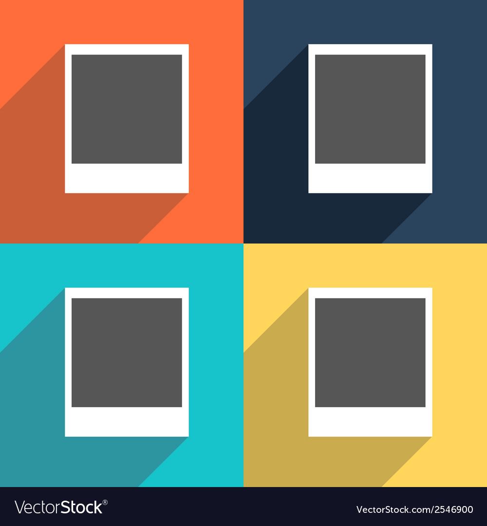 Set of photo blanks vector   Price: 1 Credit (USD $1)