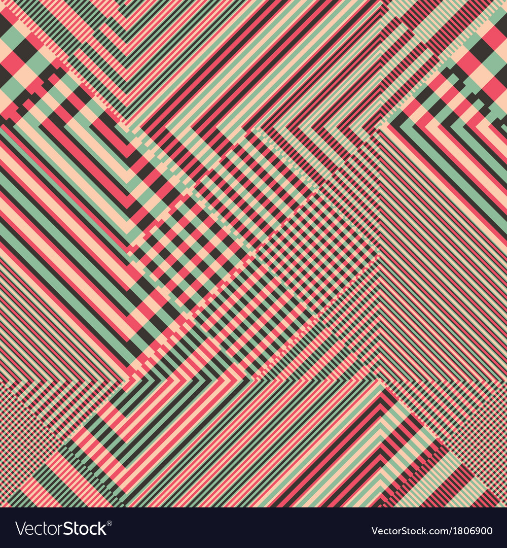 Striped textured geometric seamless pattern vector   Price: 1 Credit (USD $1)