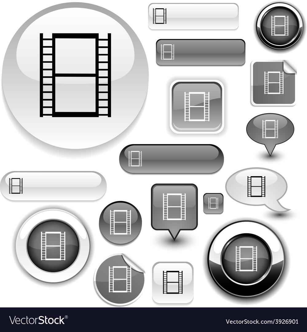 Cinema signs vector | Price: 1 Credit (USD $1)