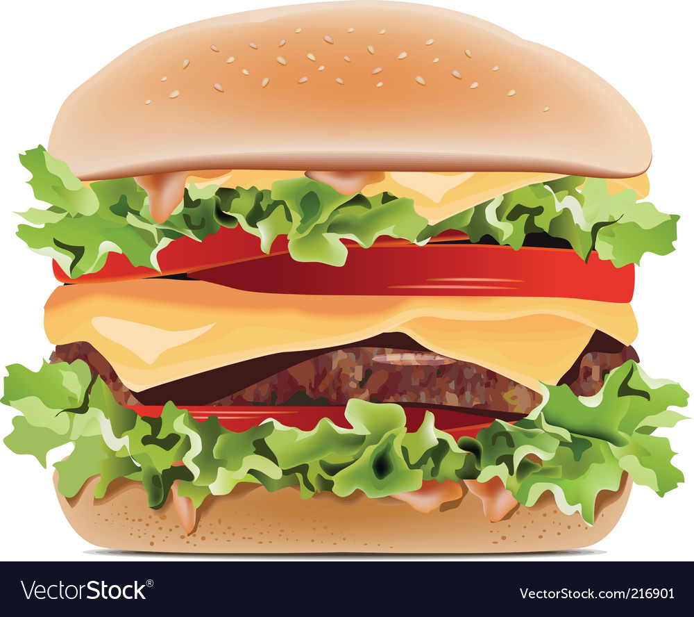 Hamburger vector | Price: 3 Credit (USD $3)