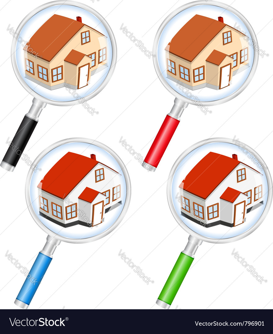 Search for house concept vector | Price: 1 Credit (USD $1)