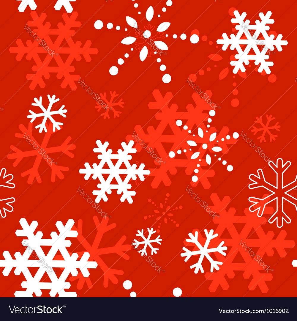 Decorative winter christmas seamless texture vector | Price: 1 Credit (USD $1)