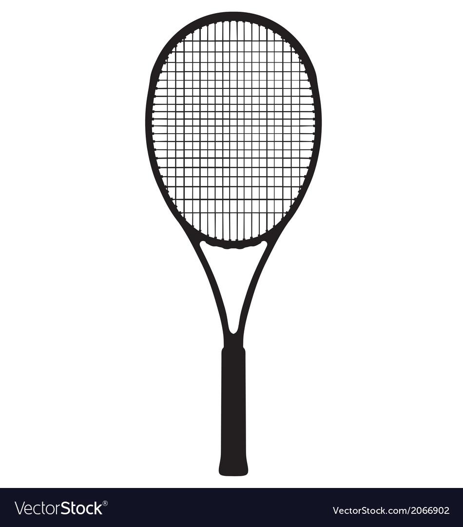 Tennis racquet vector | Price: 1 Credit (USD $1)