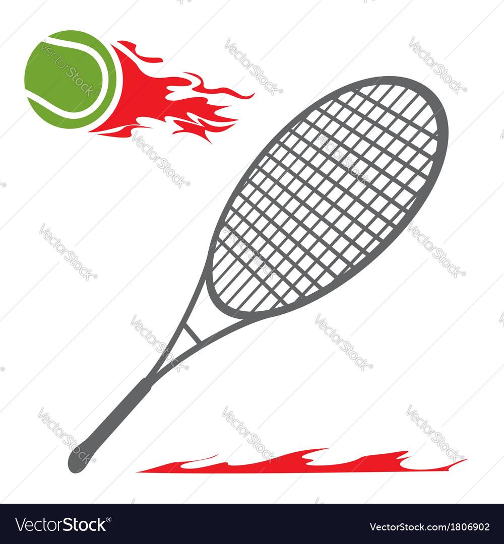 Tennis symbol vector | Price: 1 Credit (USD $1)
