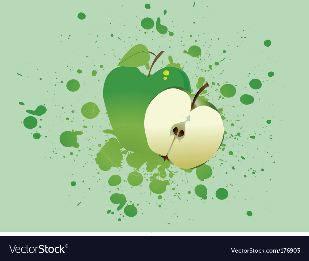 Apple blast vector | Price: 1 Credit (USD $1)
