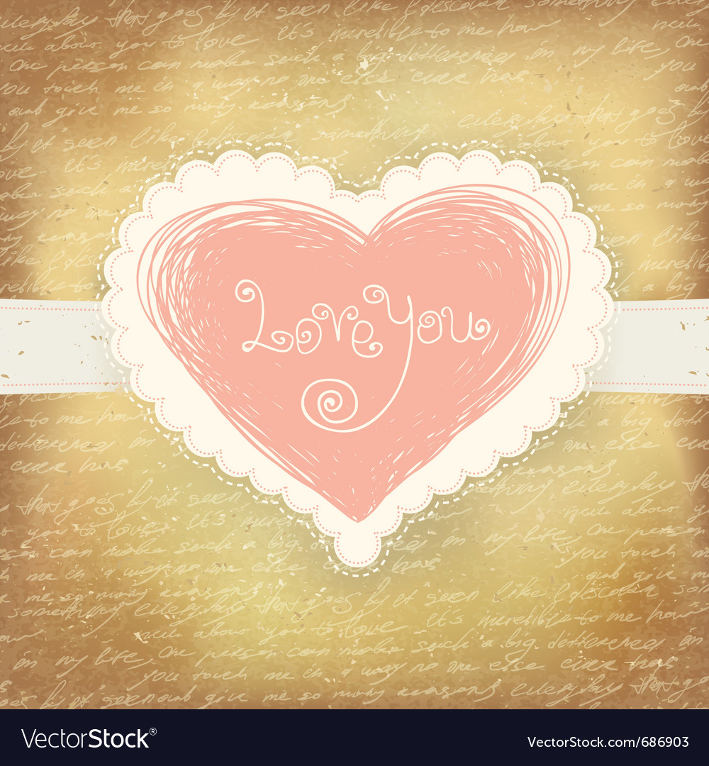Beautiful greeting valentines vector | Price: 1 Credit (USD $1)
