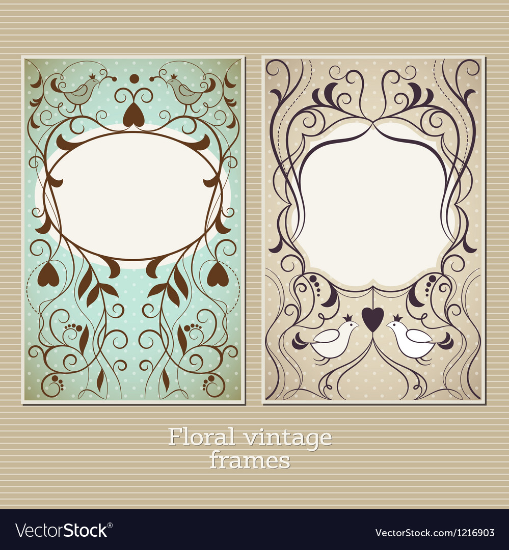 Elegance vintage frame vector | Price: 1 Credit (USD $1)