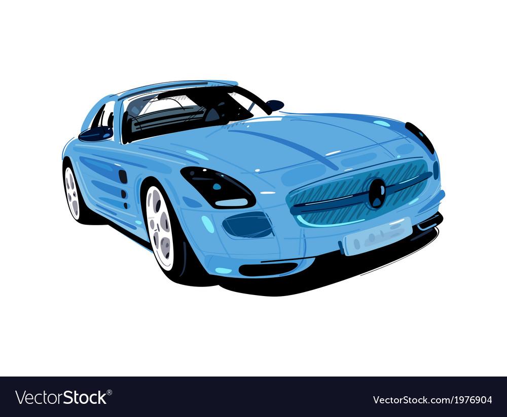Artistic auto vector | Price: 1 Credit (USD $1)