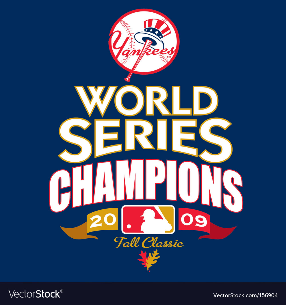 Mlb 2009 world champs vector | Price: 1 Credit (USD $1)
