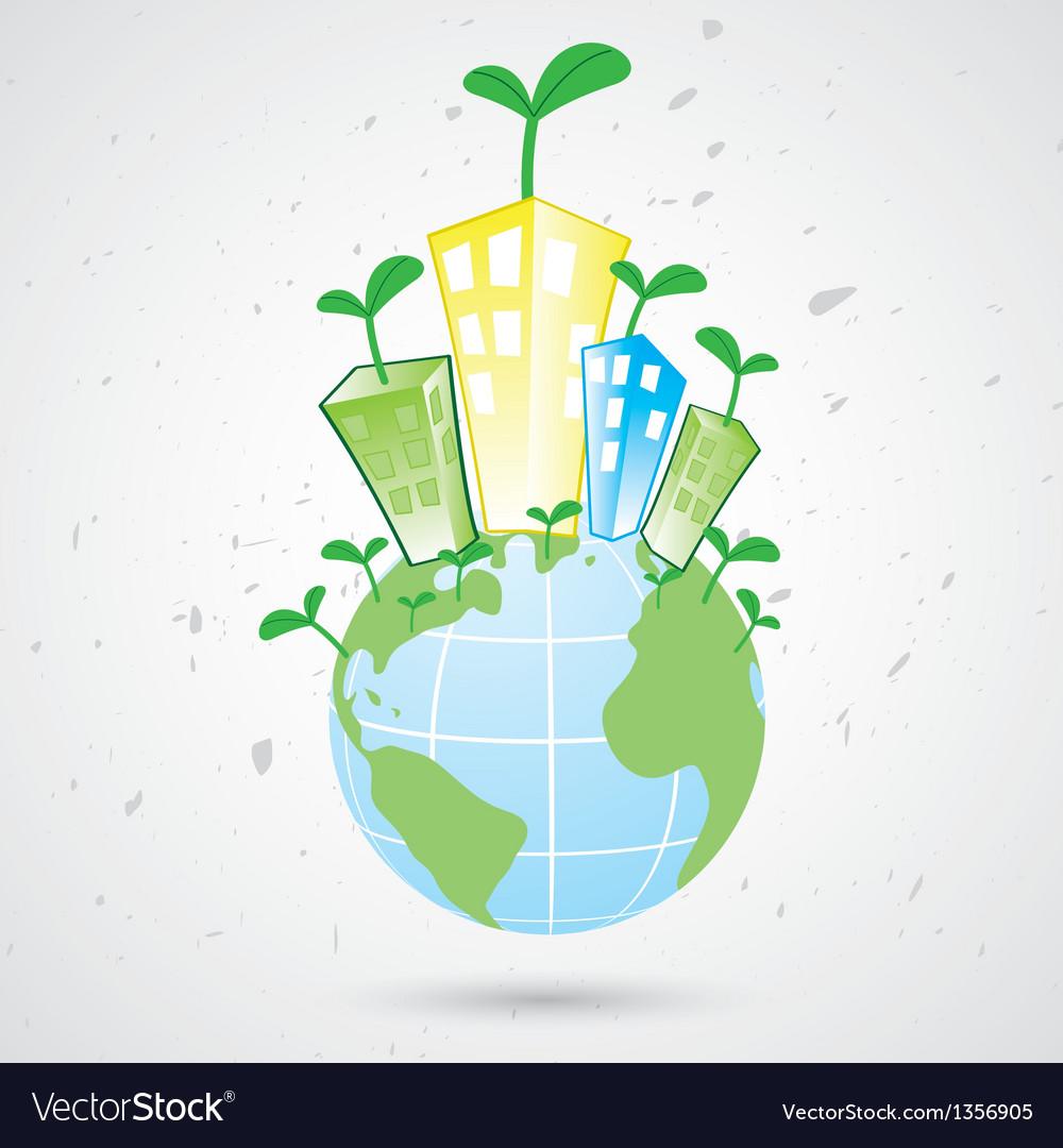 Plant earth vector | Price: 1 Credit (USD $1)