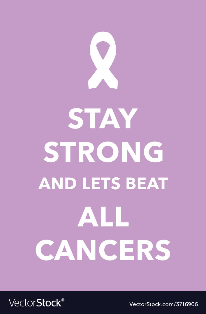 All cancers poster vector | Price: 1 Credit (USD $1)