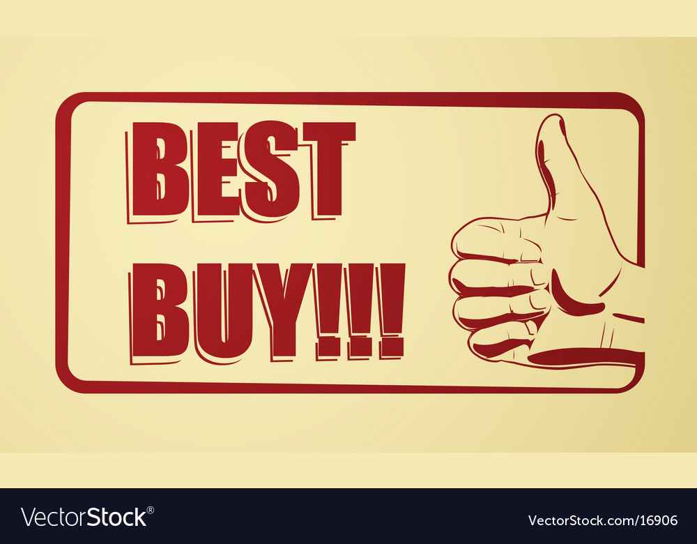 Best buy icon vector | Price: 1 Credit (USD $1)