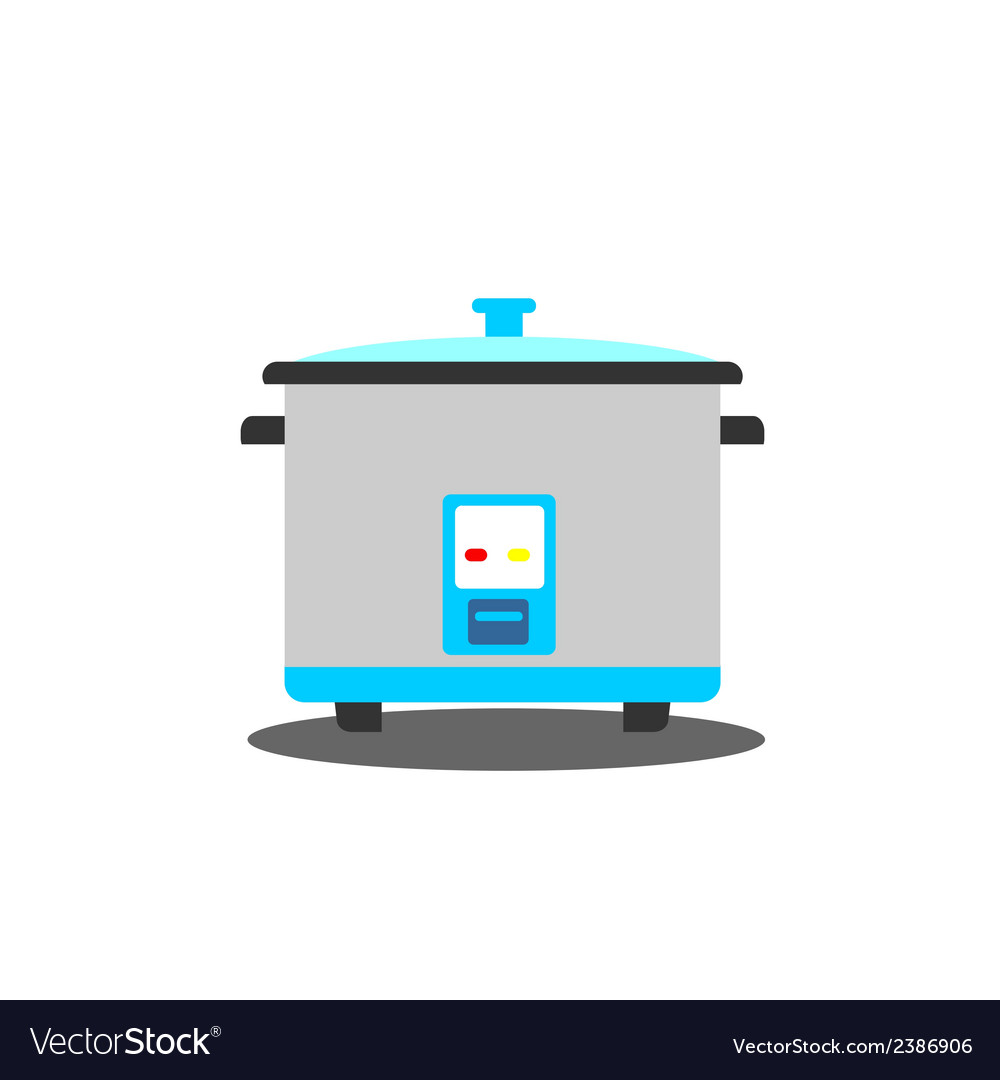 Rice cooker vector | Price: 1 Credit (USD $1)