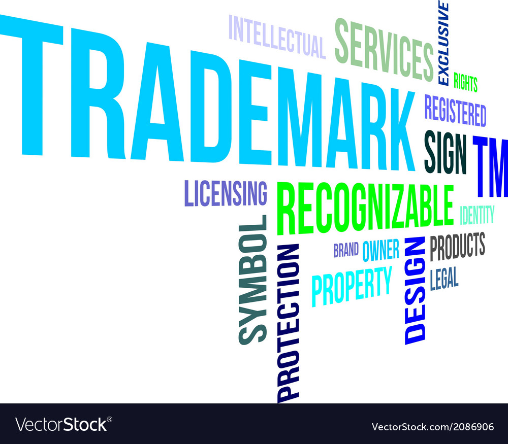 Word cloud trademark vector | Price: 1 Credit (USD $1)