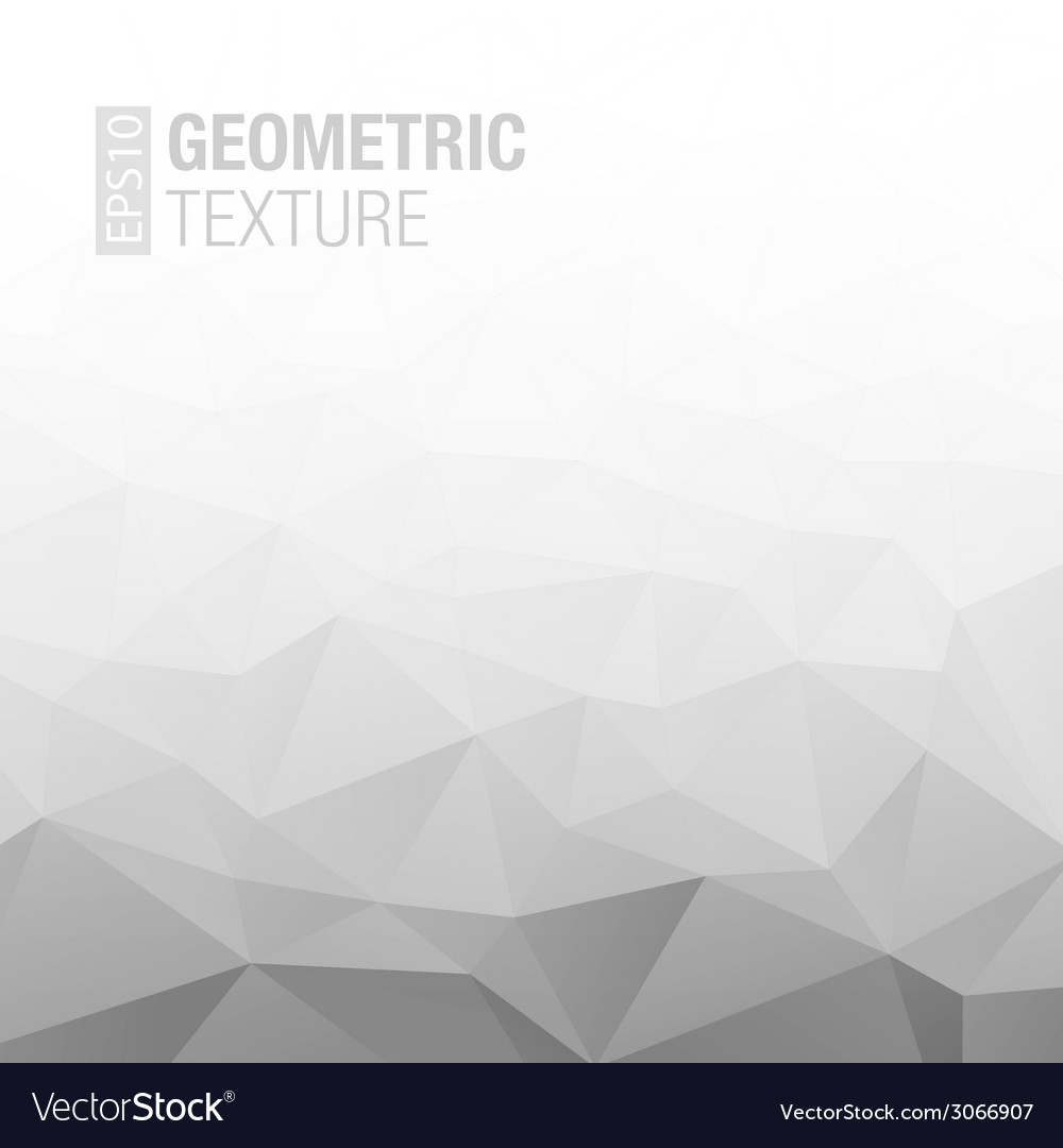 Abstract gradient gray white geometric background vector | Price: 1 Credit (USD $1)
