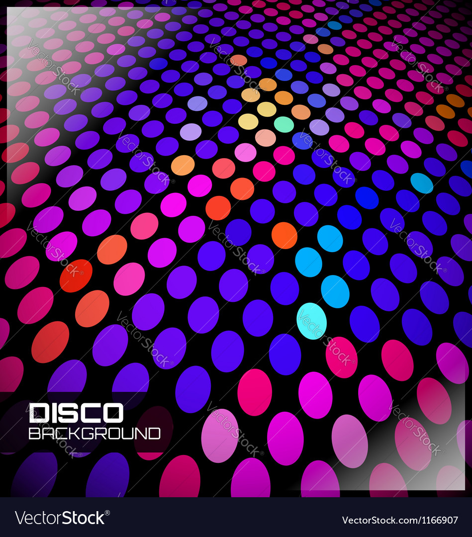 Disco spot background vector | Price: 1 Credit (USD $1)