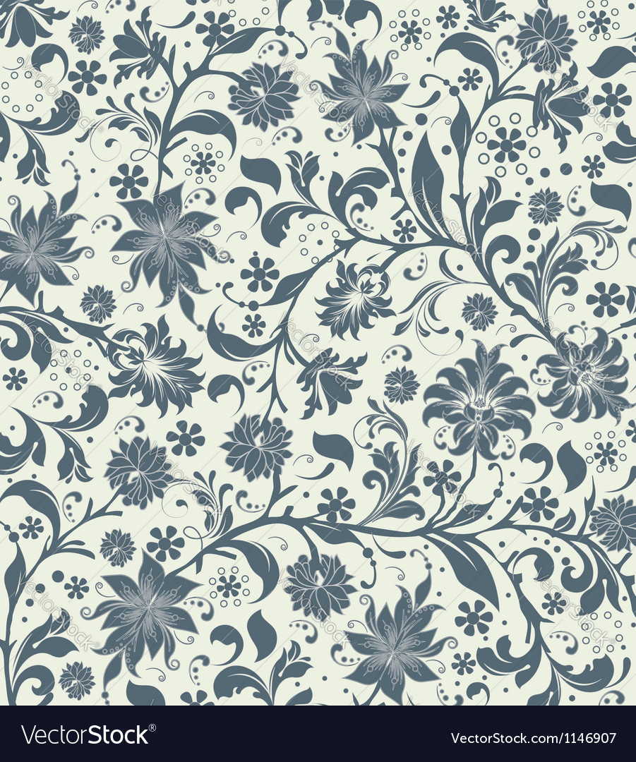 Floral seamless pattern design vector   Price: 1 Credit (USD $1)