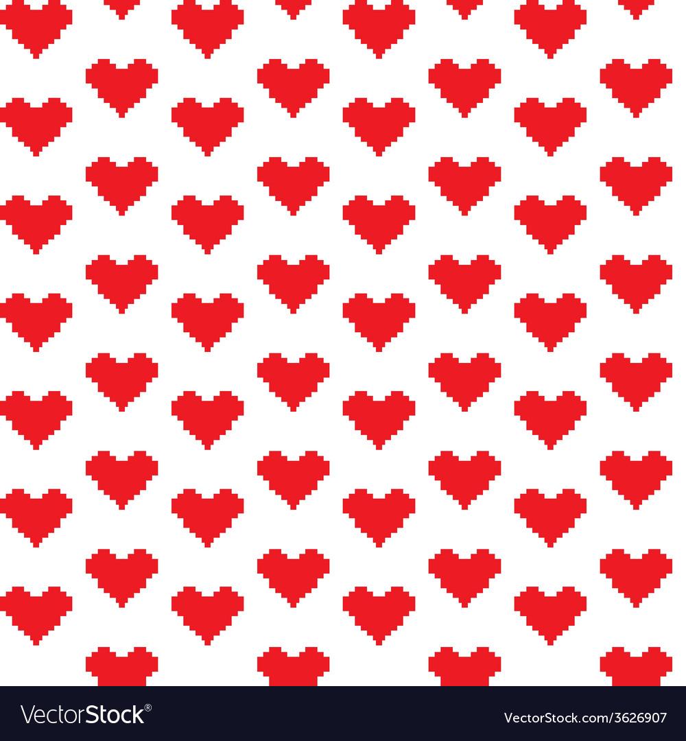 Mosaic hearts vector | Price: 1 Credit (USD $1)