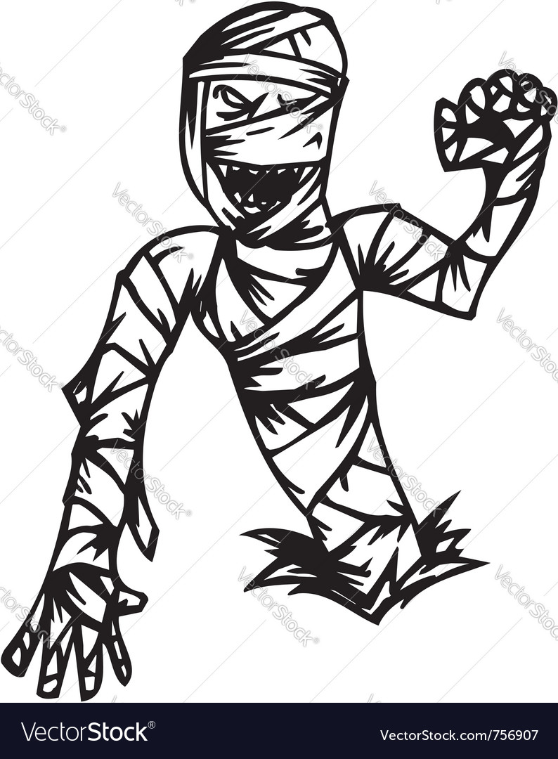 Mummy - halloween set - vector | Price: 1 Credit (USD $1)