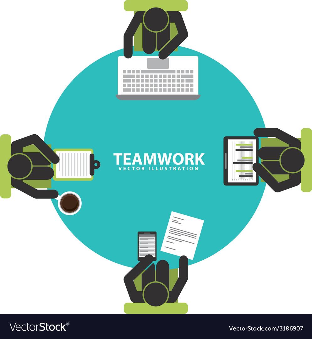 Teamwork design vector   Price: 1 Credit (USD $1)