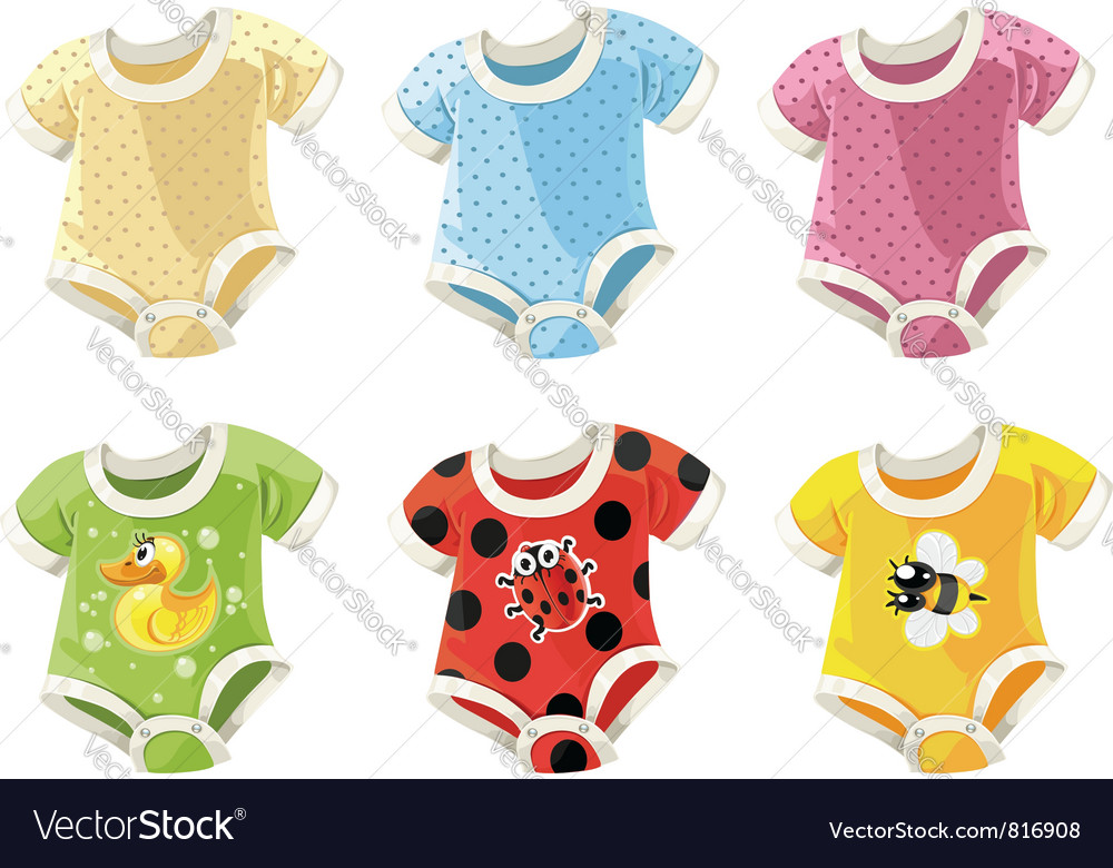 Babies clothes vector | Price: 3 Credit (USD $3)