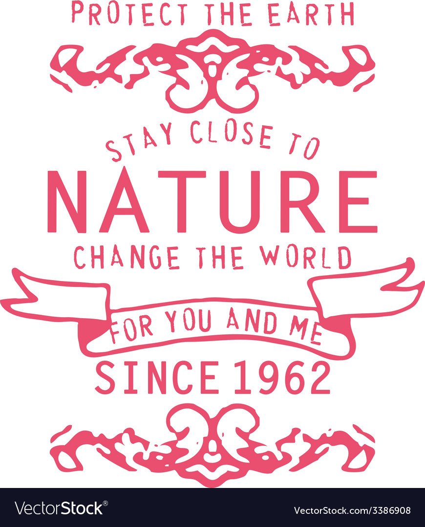 Type fonts type-fonts print pink nature vector | Price: 1 Credit (USD $1)