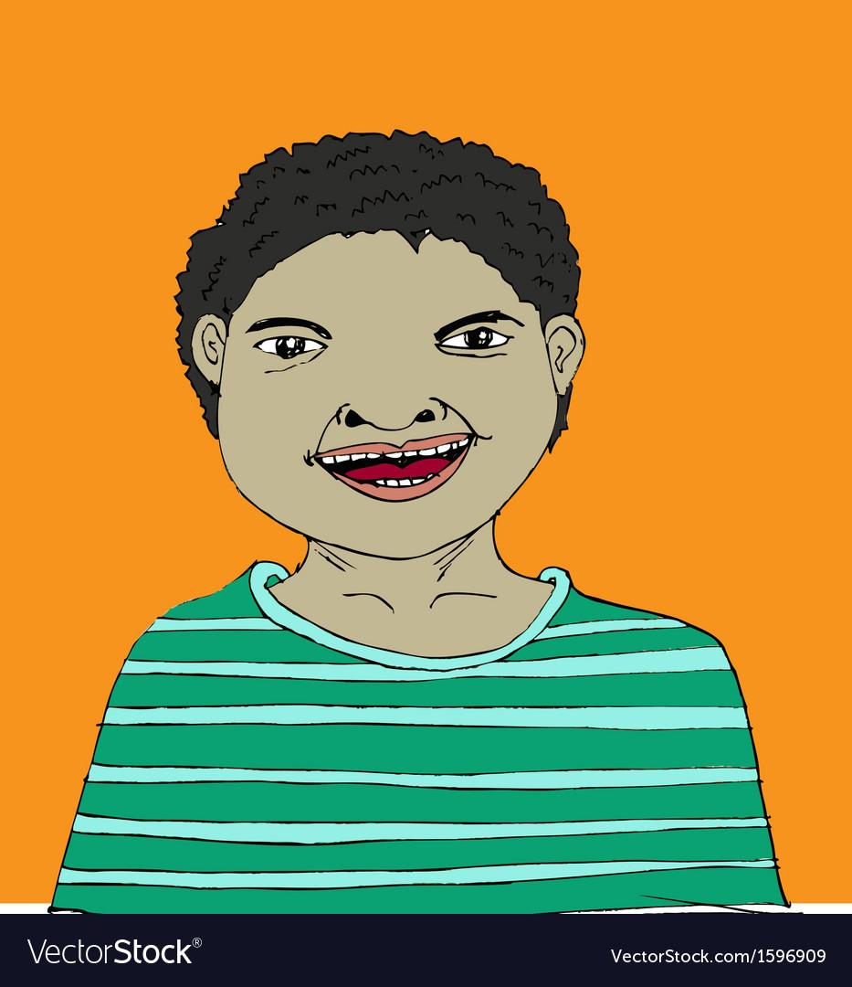 Cartoon character people vector | Price: 1 Credit (USD $1)