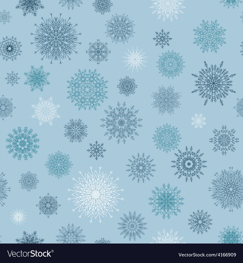Christmas seamless pattern from red andblue vector   Price: 1 Credit (USD $1)