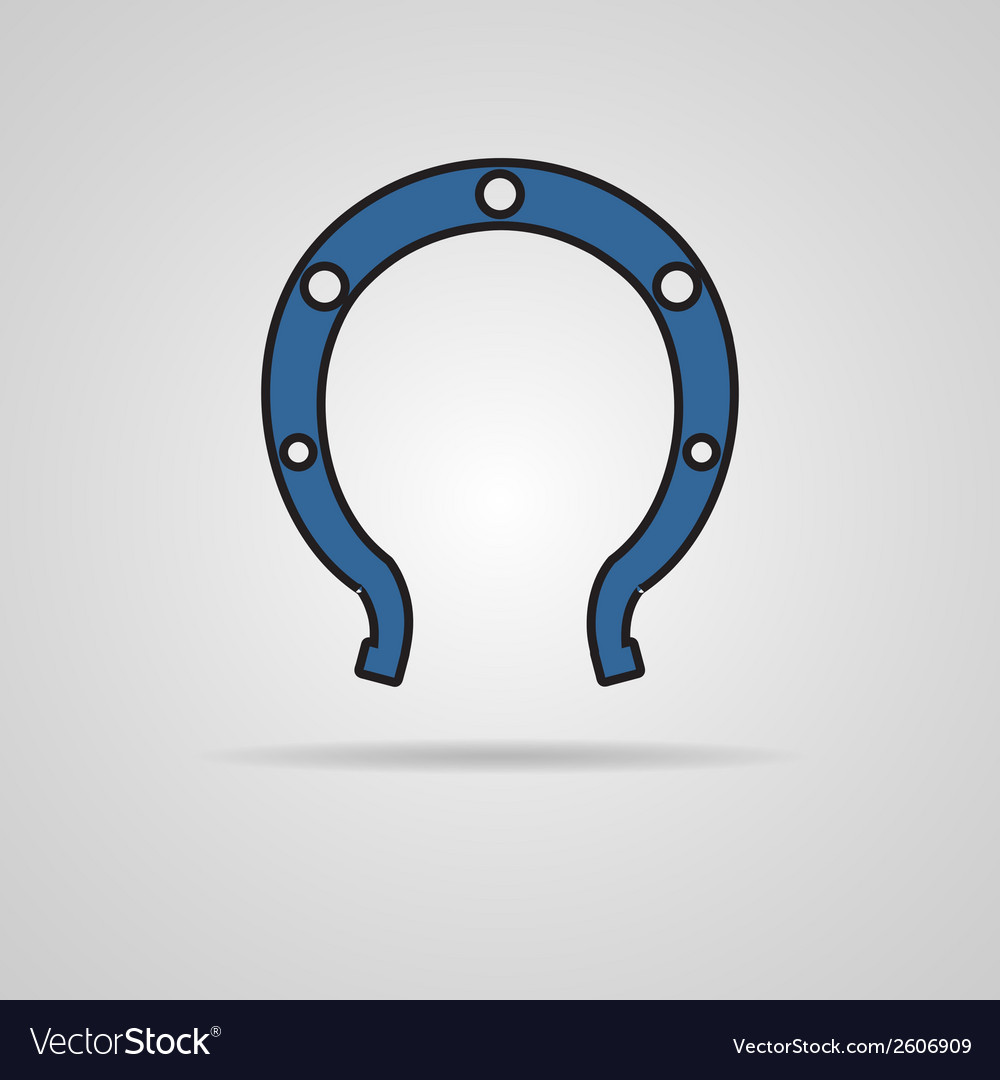 Horseshoe icon vector | Price: 1 Credit (USD $1)