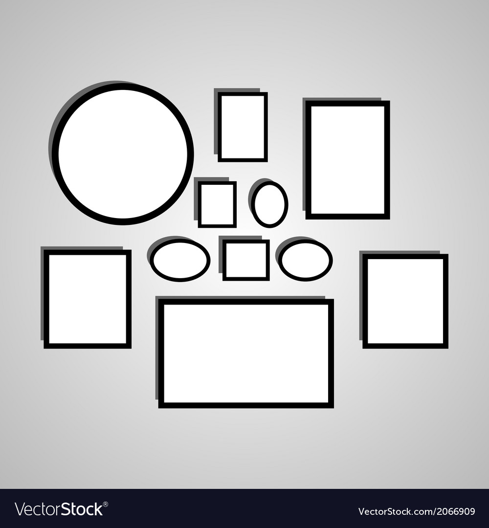 Picture frame vector | Price: 1 Credit (USD $1)