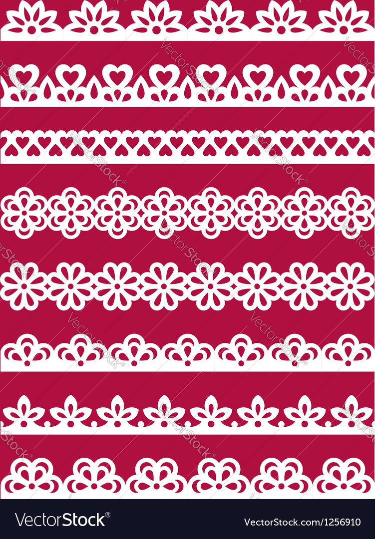Lace patterns 2 vector | Price: 1 Credit (USD $1)
