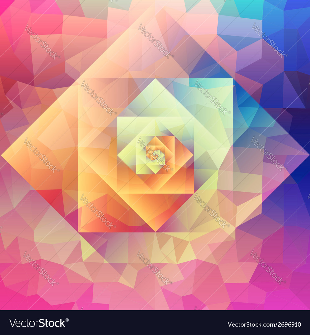 Vintage optic art geometric pattern vector | Price: 1 Credit (USD $1)