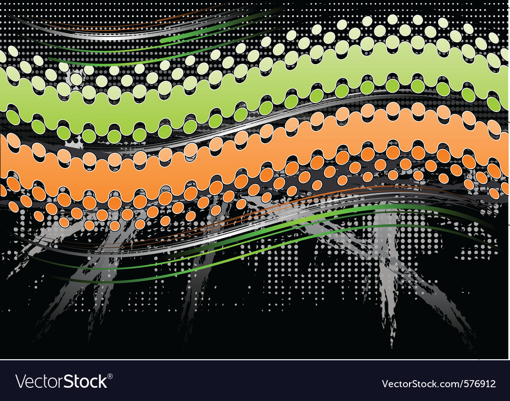 Green and orange abstract background vector   Price: 1 Credit (USD $1)