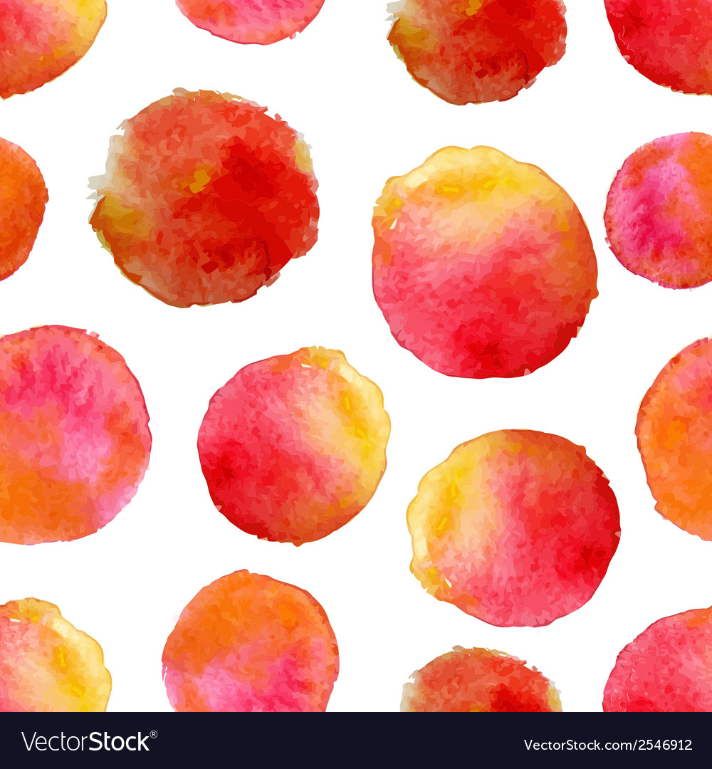 Round water color background vector | Price: 1 Credit (USD $1)