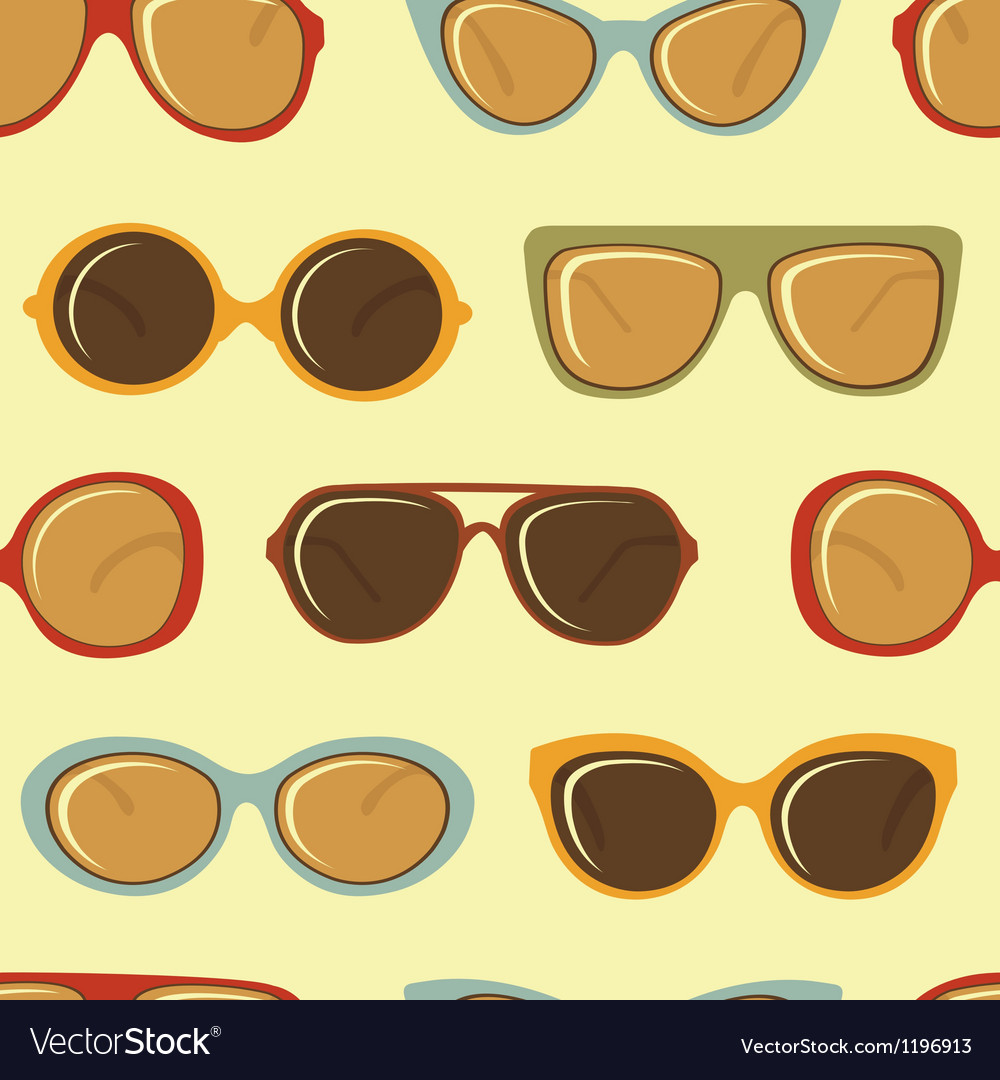 Fashion sunglasses pattern vector | Price: 1 Credit (USD $1)