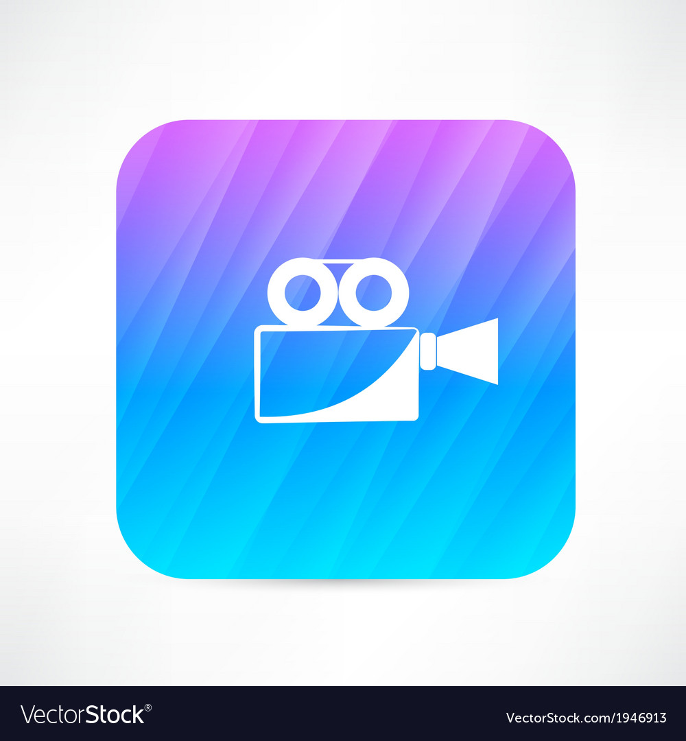 Old video camera vector | Price: 1 Credit (USD $1)