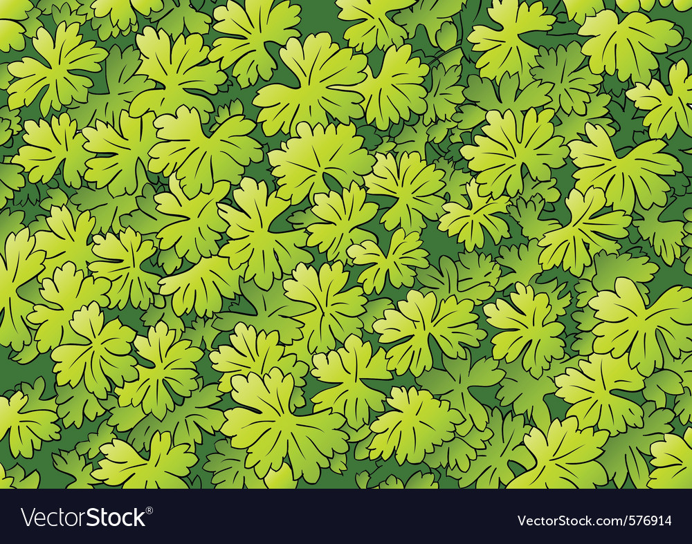 Green foliage background vector | Price: 1 Credit (USD $1)