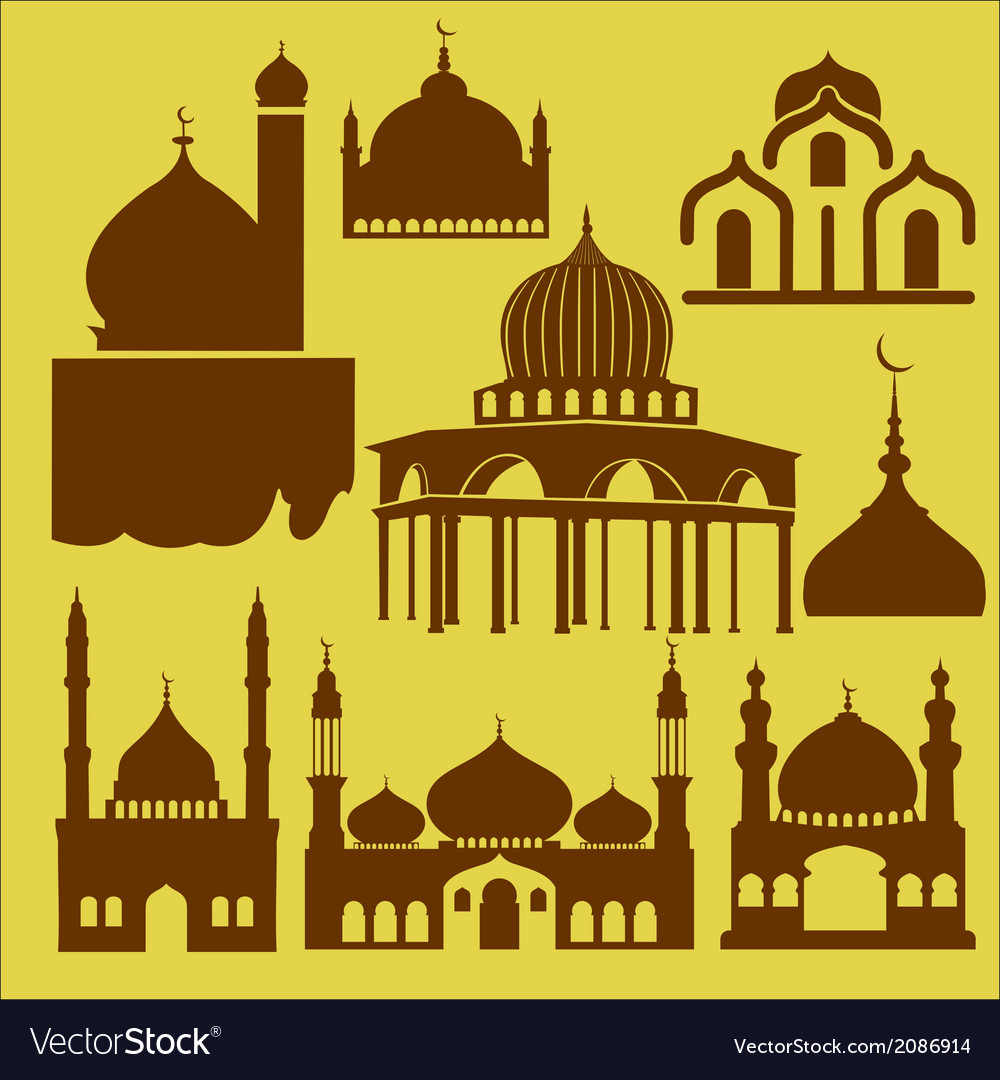 Mosque 1 vector | Price: 1 Credit (USD $1)