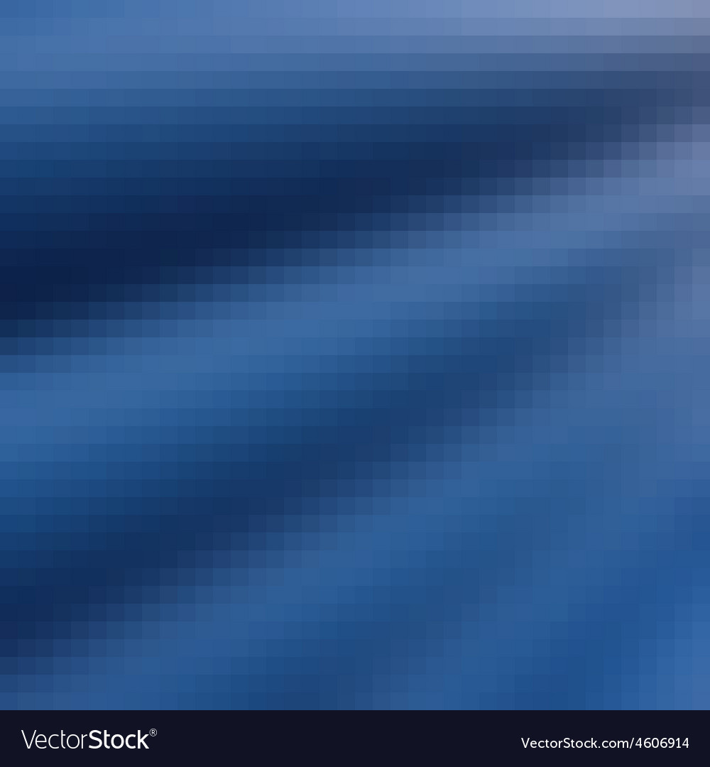 Pixel wave curtain blue gradient background vector | Price: 1 Credit (USD $1)