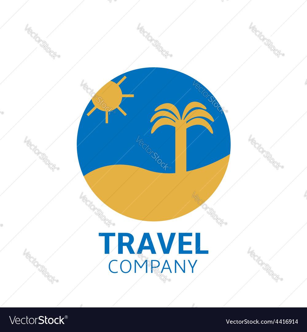 Travel logo vector | Price: 1 Credit (USD $1)
