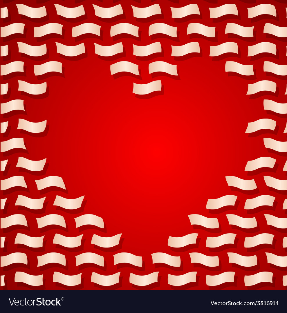 Valentine day background with flying letters vector | Price: 1 Credit (USD $1)