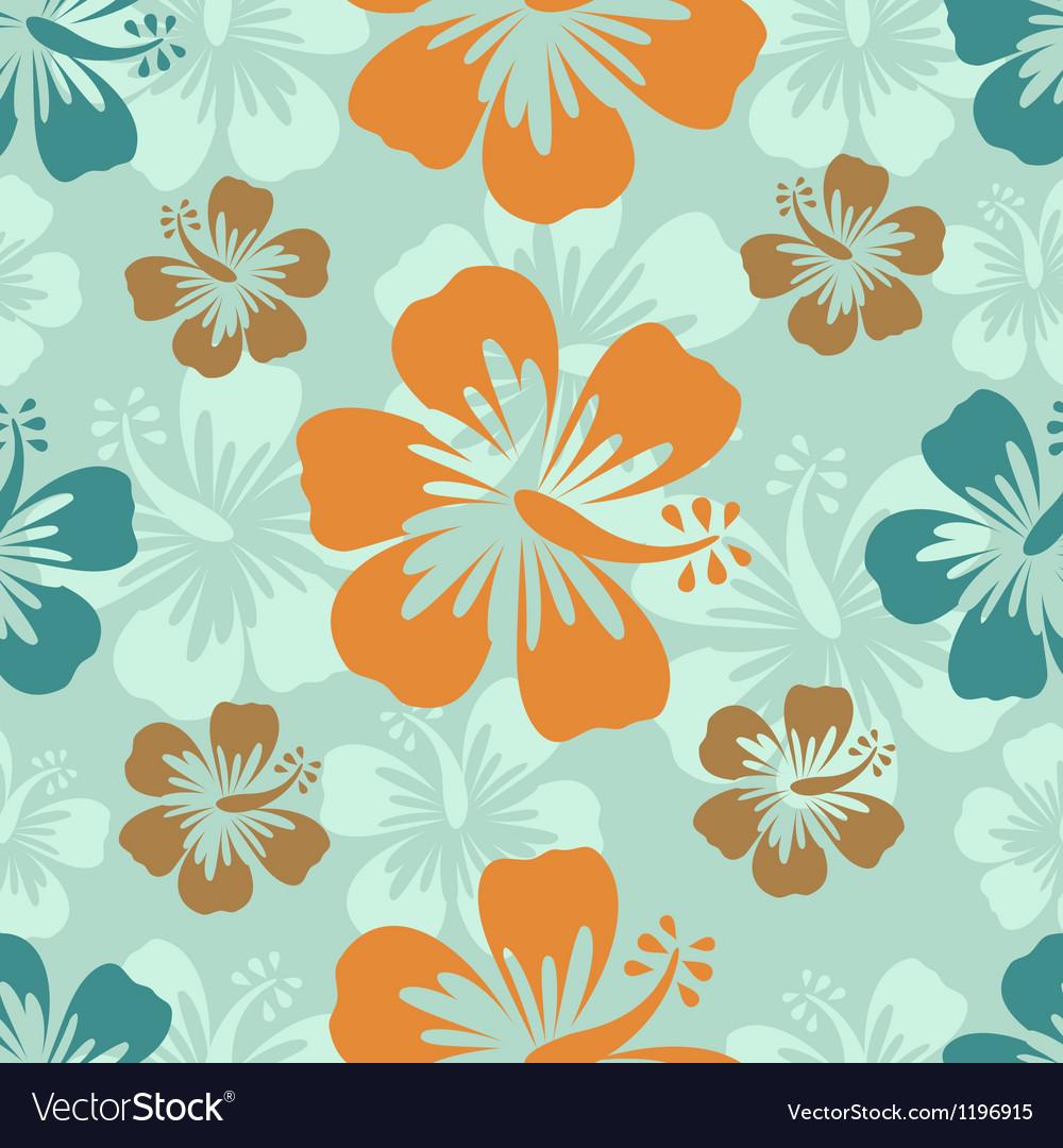 Hibiscus background vector | Price: 1 Credit (USD $1)