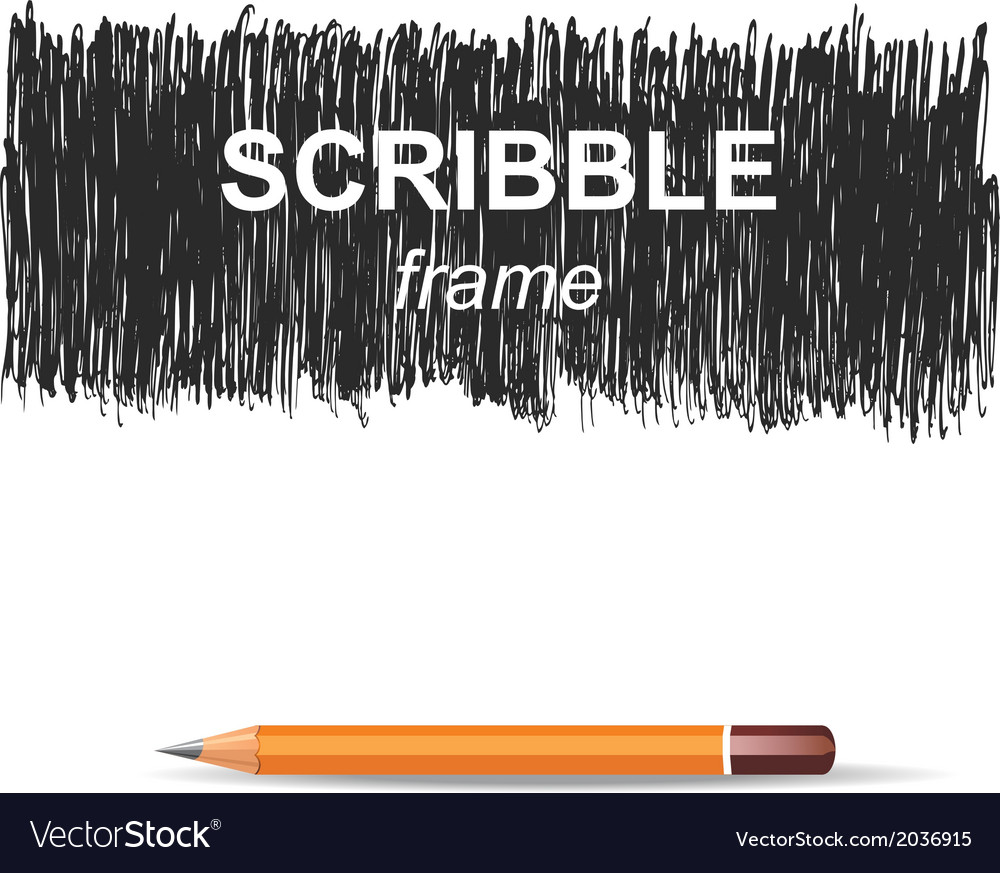 Scribble background vector | Price: 1 Credit (USD $1)