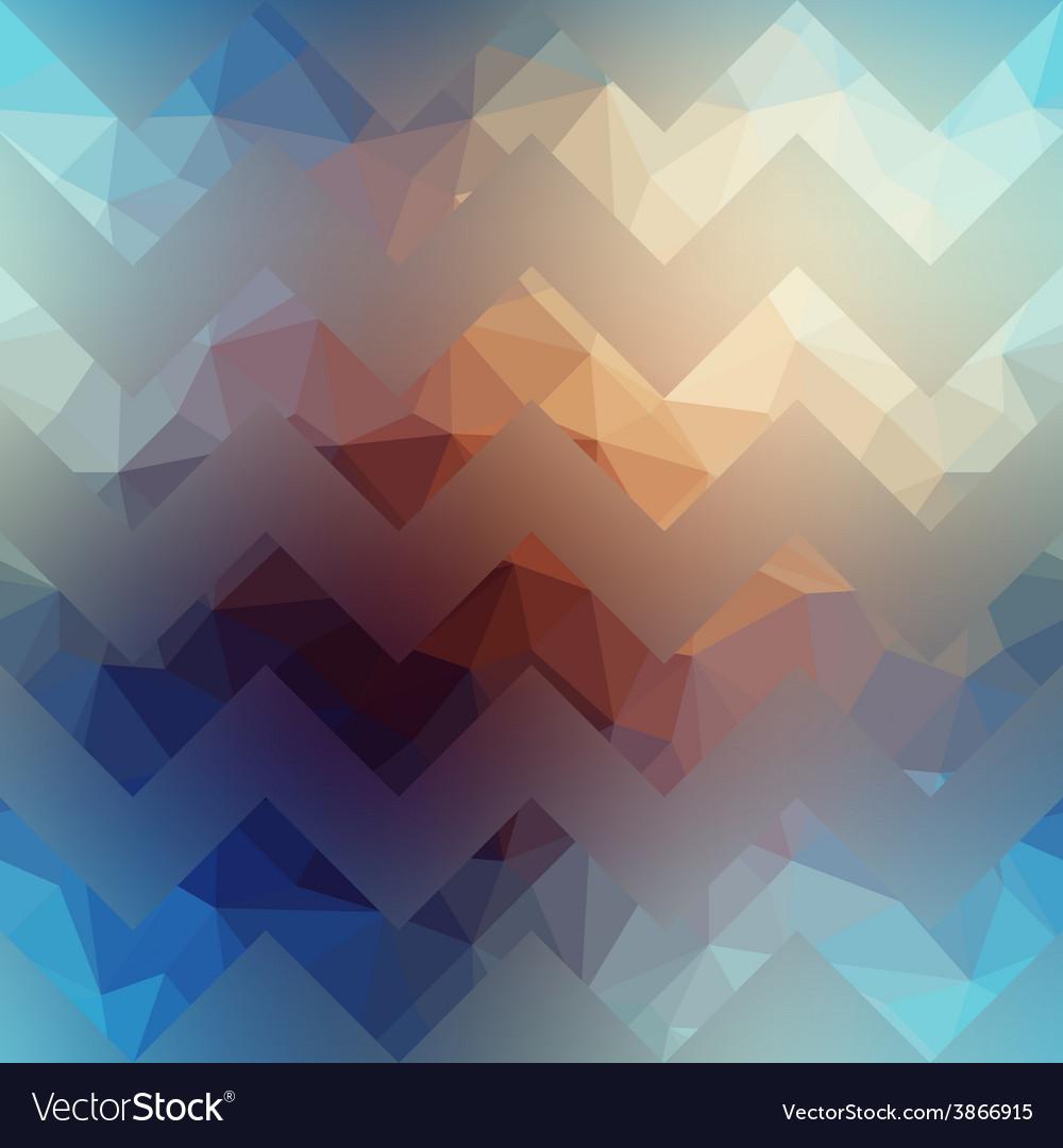 Textured chevron pattern on blurred background vector | Price: 1 Credit (USD $1)