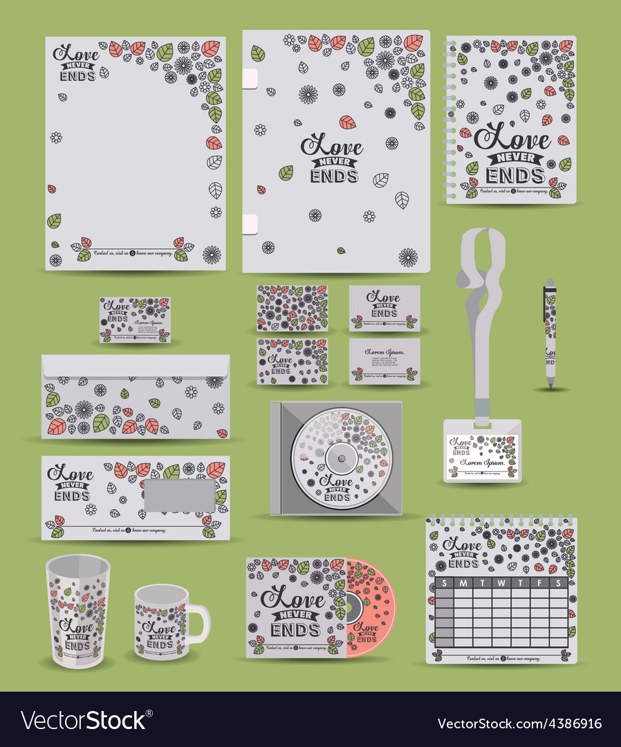 Corporate identity design vector | Price: 1 Credit (USD $1)