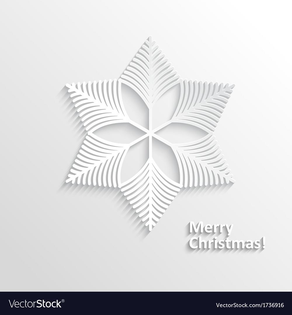 Design snowflake vector | Price: 1 Credit (USD $1)