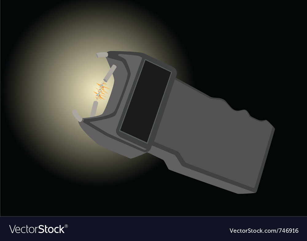 Electroshock device vector | Price: 1 Credit (USD $1)