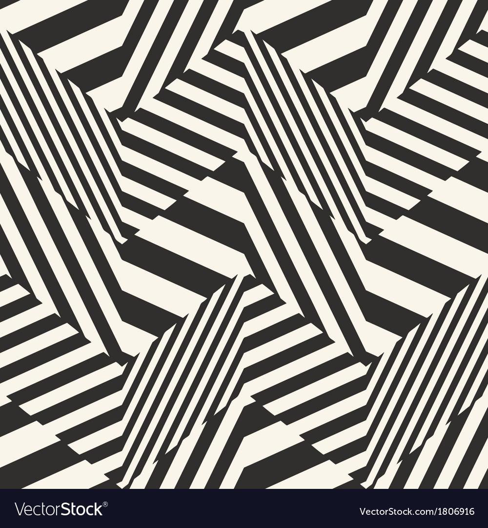 Striped textured chevron optical vector | Price: 1 Credit (USD $1)
