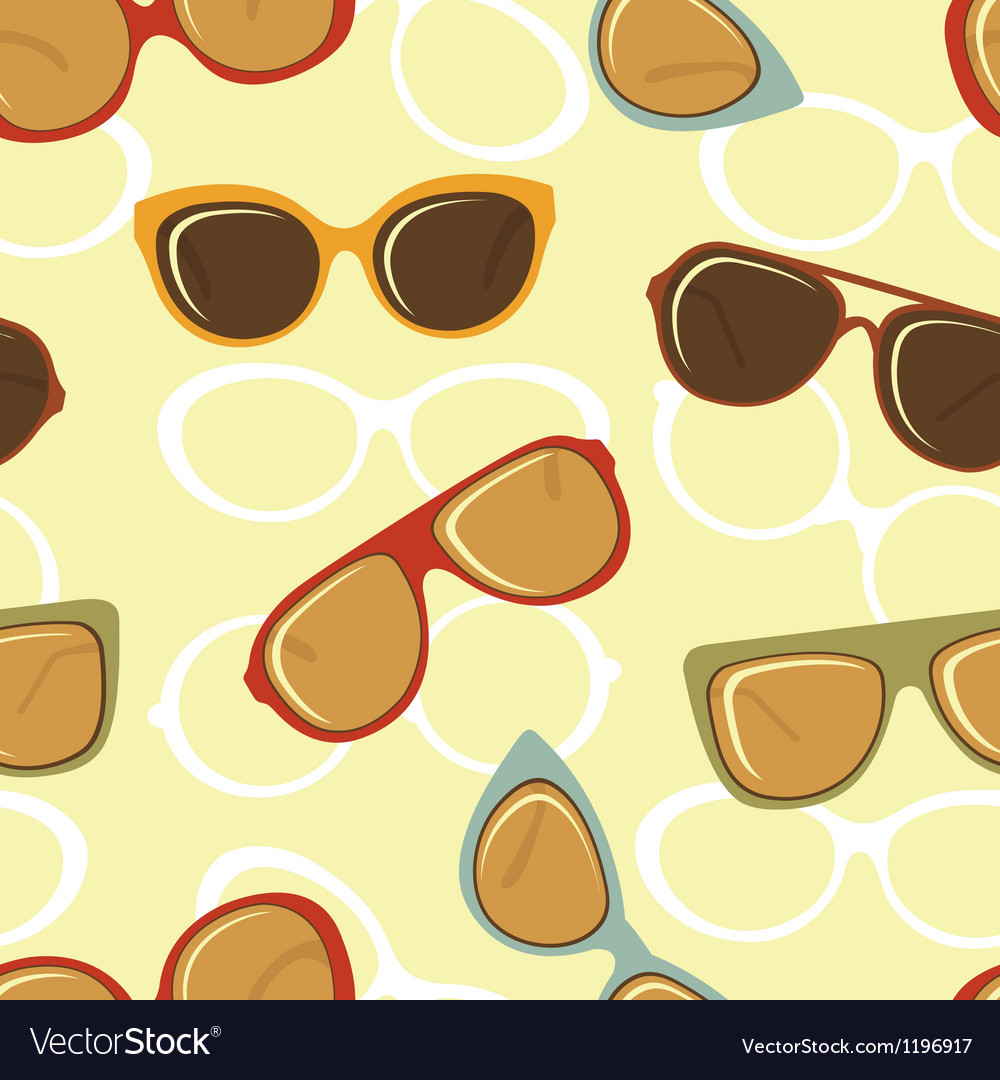 Fashion glasses pattern vector | Price: 1 Credit (USD $1)